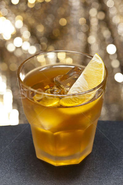 Stock photo: Rusty Nail Cocktail