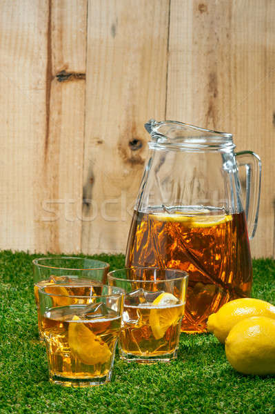 Iced Lemon Ice Tea Stock photo © 3523studio