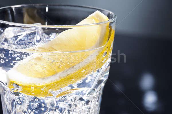 Gin dansvloer licht glas zomer disco Stockfoto © 3523studio