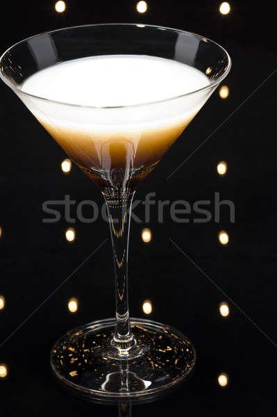 Foto d'archivio: Caffè · Martini · cocktail · discoteca · luci · bar