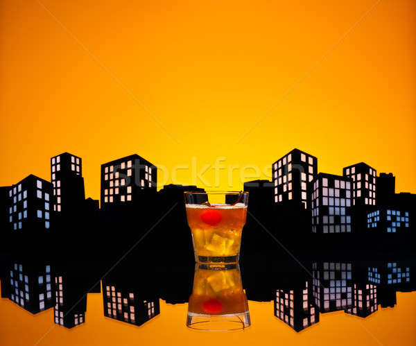 Stock photo: Metropolis Mai Tai cocktail
