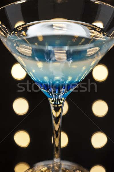 Tánctér szép világítás víz üveg étterem Stock fotó © 3523studio