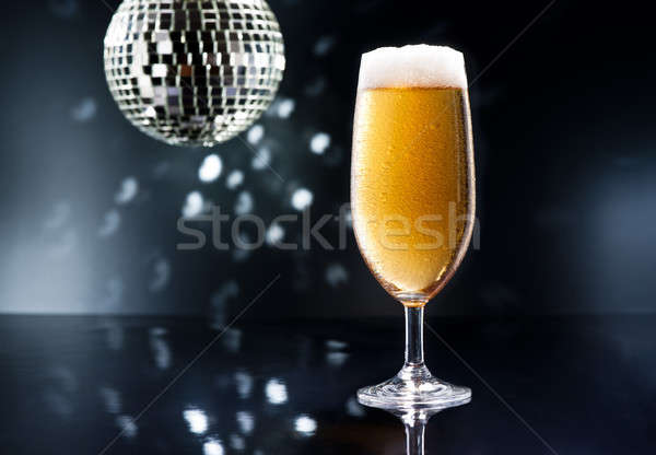 Bier on Disco Bar Stock photo © 3523studio