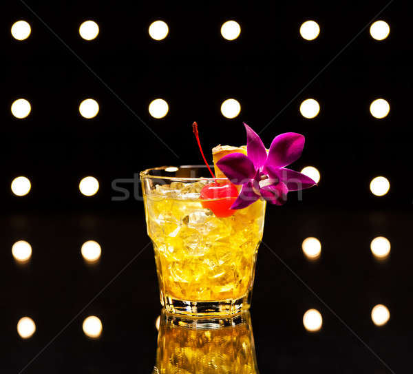 Mai Tai cocktail Stock photo © 3523studio