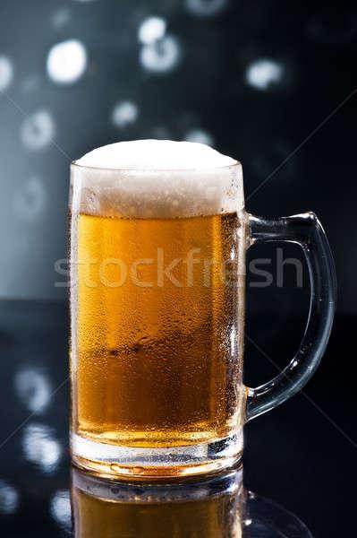 Bier on Disco Bar Stock photo © 3523studio