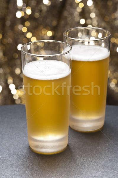 Ravatal szemüveg színes kicsi dekoráció buli Stock fotó © 3523studio
