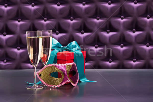 New Years celebration items  Stock photo © 3523studio