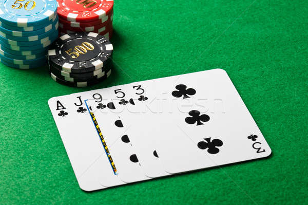 Poker flush Stock photo © 3523studio