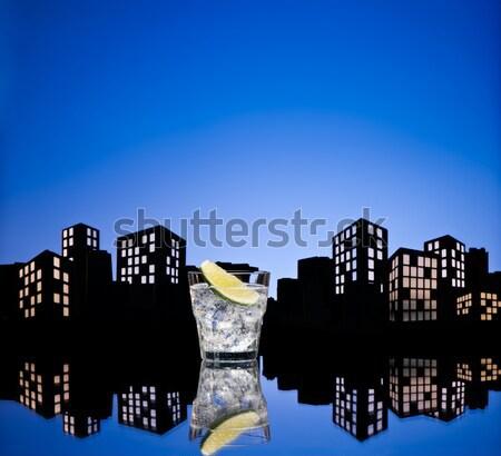大都市 市 ゲイ 貯金 市民の 組合 ストックフォト © 3523studio