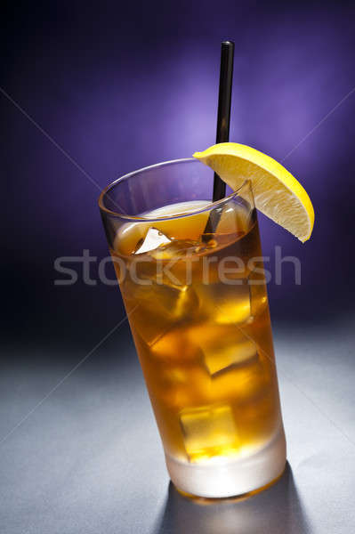 Uzun ada mor buz içmek Stok fotoğraf © 3523studio