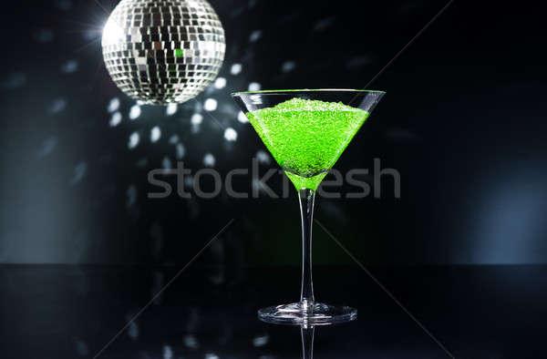 Martini яблоко коктейль дискотеку фары лет Сток-фото © 3523studio
