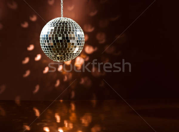 Piste de danse sourire fête résumé danse signe Photo stock © 3523studio