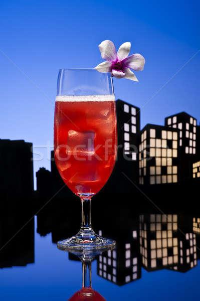 Metropolis Singapore cocktail hotel Stockfoto © 3523studio