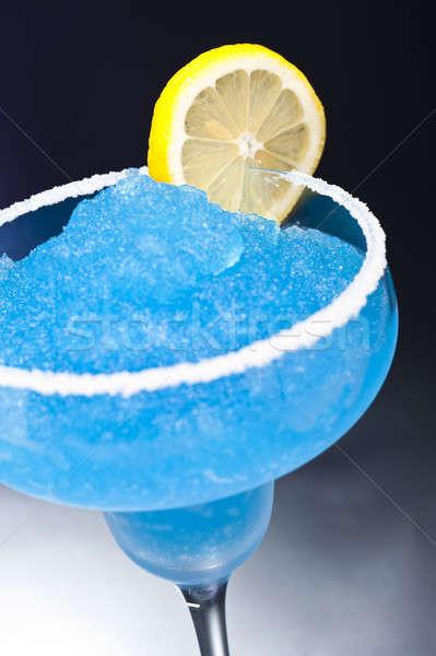 Blue margarita Cocktail Stock photo © 3523studio