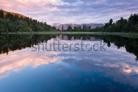Lake Matheson Stock photo © 3523studio
