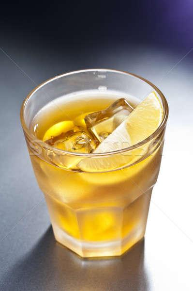 Rusty Nail Cocktail Stock photo © 3523studio