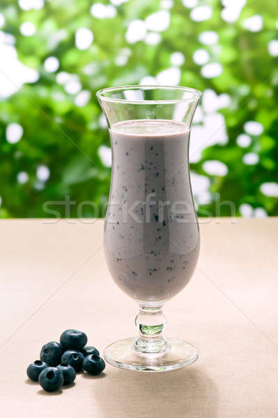 Milkshake echt vruchten groene abstract Stockfoto © 3523studio