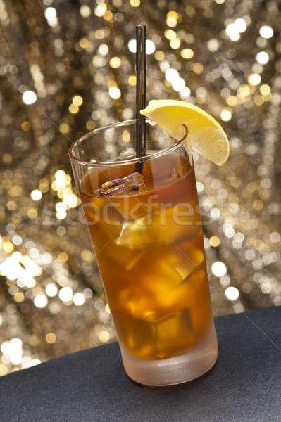 Uzun ada buz içmek renk Stok fotoğraf © 3523studio