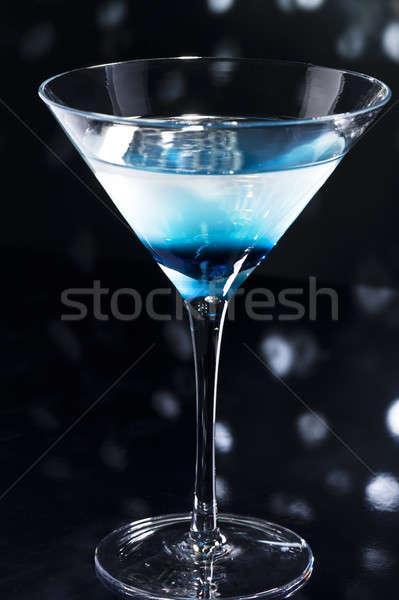 Koktélok tánctér diszkó víz üveg bár Stock fotó © 3523studio