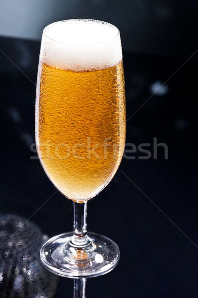 Ravatal diszkó bár természetes színek sör Stock fotó © 3523studio