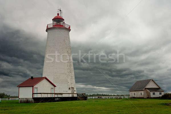 Miscou Lighthouse Stock photo © 3523studio