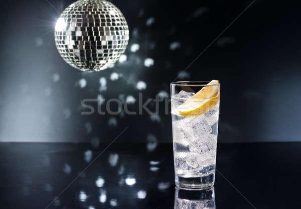 Сток-фото: джин · свет · стекла · лет · дискотеку