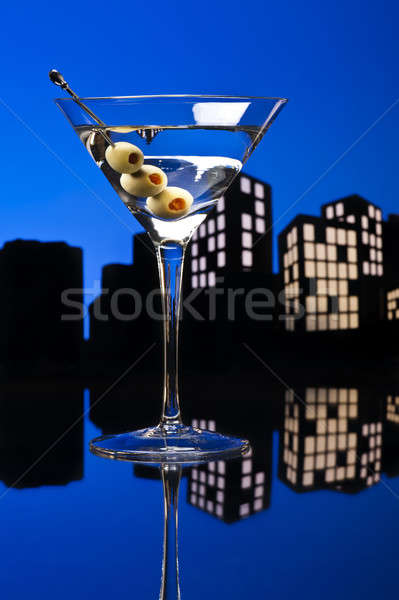 Metropolis Vodka Martini Stock photo © 3523studio