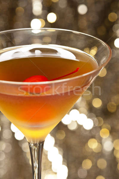 Rob Roy Cocktail Stock photo © 3523studio