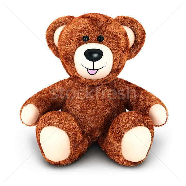 3d teddy bear Stock photo © 3dmask