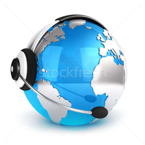 3d global communication concept Stock photo © 3dmask