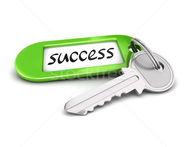 3d key to success Stock photo © 3dmask