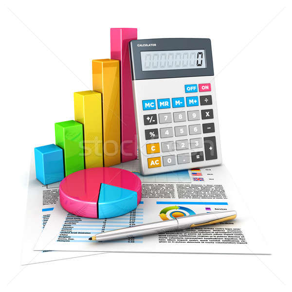 3d accounting concept Stock photo © 3dmask