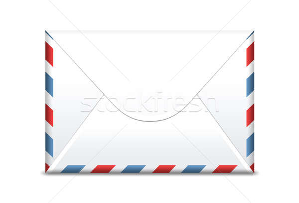 Envelope isolated, front side  Stock photo © 3dvin