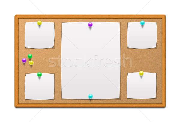 会報 ボード 文房具 紙 スペース 生活 ストックフォト © 3dvin