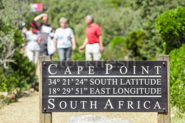 Cape point pathway Stock photo © 3pphoto31