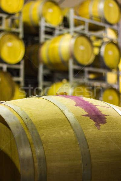 Wine barrel Stock photo © 3pphoto31