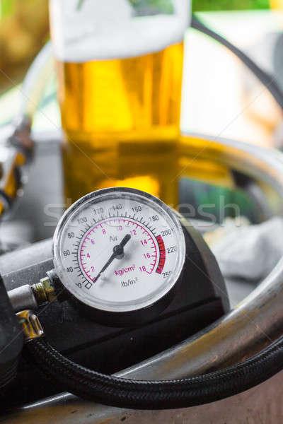 Soğuk altın taze bira açık Stok fotoğraf © 3pphoto31