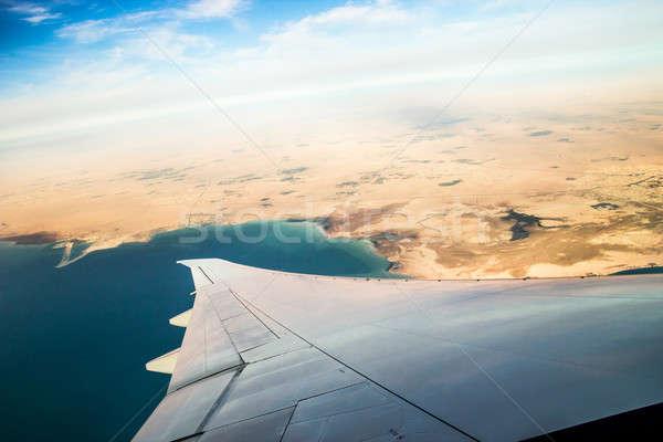 Avion voyage coup bleu ciel Photo stock © 3pphoto31