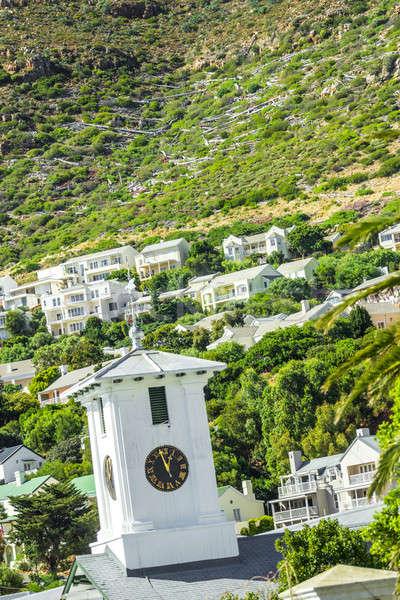 Köy dağlar parlak taze beyaz renkli Stok fotoğraf © 3pphoto31