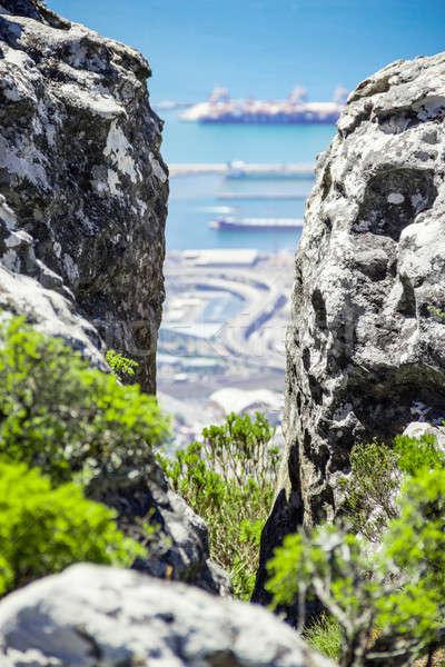 Table montagne nouvelle monde à l'intérieur Le Cap Photo stock © 3pphoto31