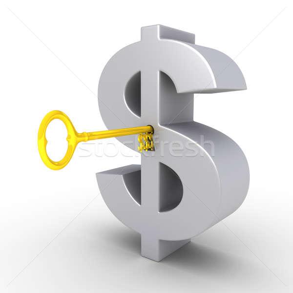 前方後円墳 ドル シンボル ビッグ ビジネス ストックフォト © 6kor3dos