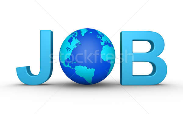 Job worldwide Stock photo © 6kor3dos