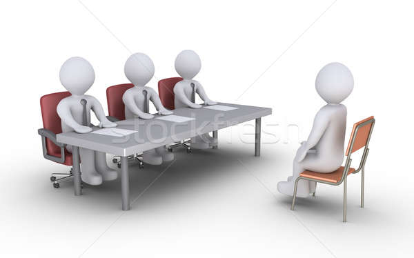 Business interview Stock photo © 6kor3dos