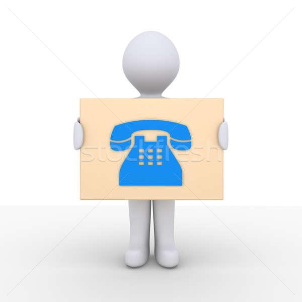 情報 人 にログイン 電話 ストックフォト © 6kor3dos
