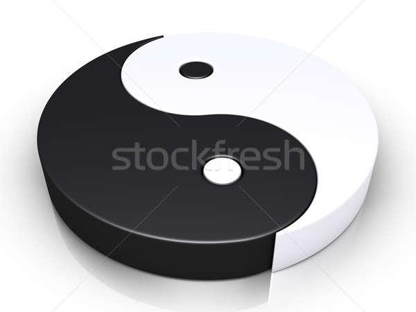 Yin and yang symbol Stock photo © 6kor3dos