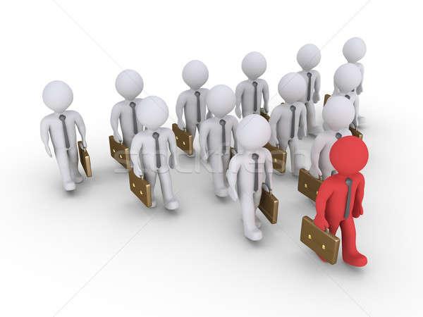 ビジネスマン グループ ビジネスマン 徒歩 フォーム ストックフォト © 6kor3dos
