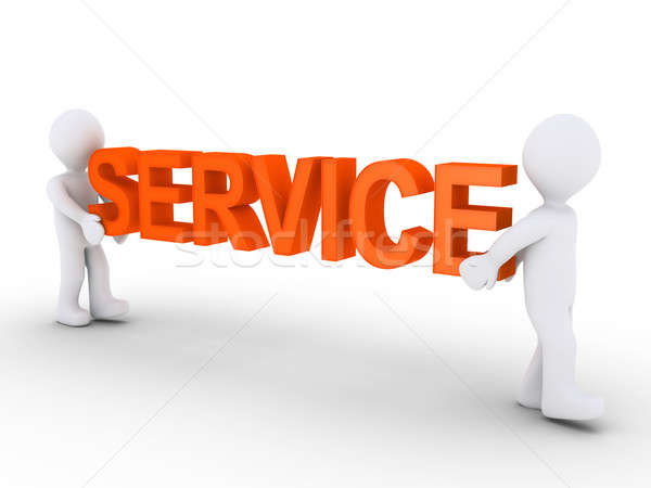 Two persons provide service Stock photo © 6kor3dos