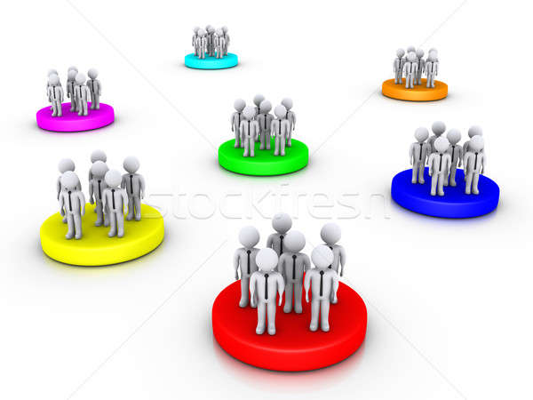 Different business groups Stock photo © 6kor3dos