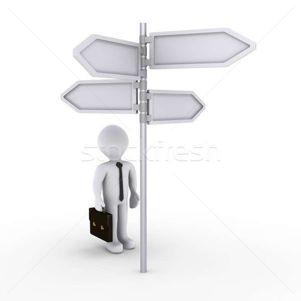 Not knowing the right way for success Stock photo © 6kor3dos