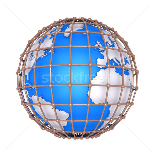 The earth is imprisoned Stock photo © 6kor3dos